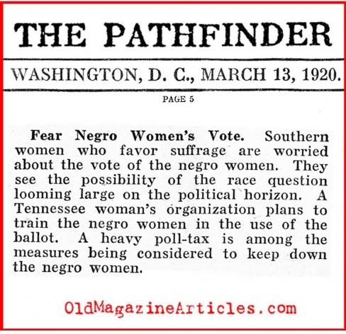Women's suffrage movement essay