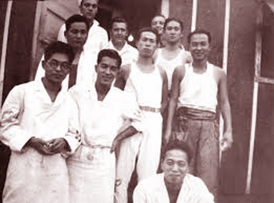 Japanese Prisoners at Camp McCoy <br />(Collier's Magazine, 1944)