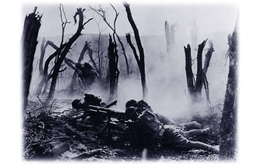 The Battle at Cantigny <br />(The Stars and Stripes, 1918)