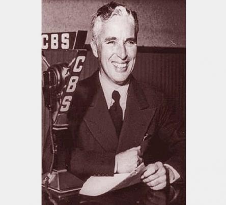Charlie Chaplin W.W. II Radio Address <br />(Rob Wagner's Script Magazine, 1942)