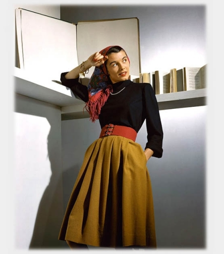 The College Fashion Forecast for the Spring of 1950 <br />(The Diamondback, 1950)