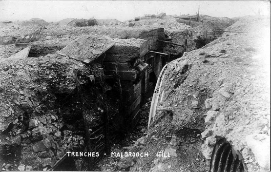''The German Concrete Trenches'' <br />(NY Times, 1915)