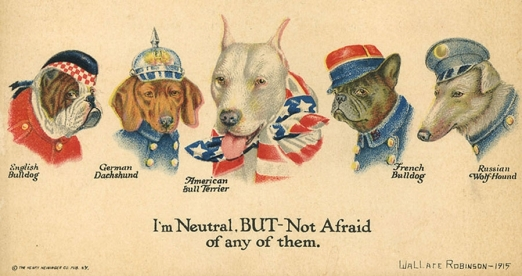 A History of Dogs in the First World War <br />(American Legion Weekly, 1919)