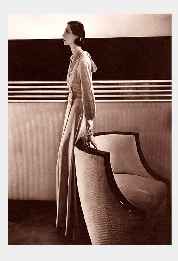 Was Tobé the First Fashion Stylist? <br />(Delineator Magazine, 1937)
