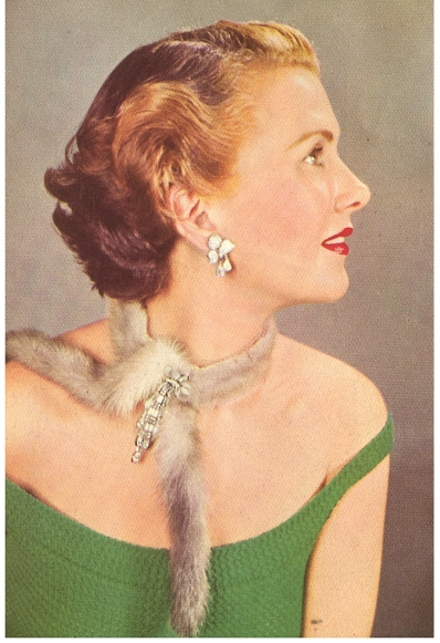 Fur Jewelry and Wraps <br />(Quick Magazine, 1952)
