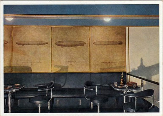 The Interior Design of the ''Hindenburg'' <br />(Creative Art Magazine, 1937)