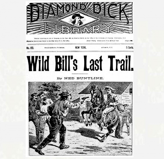 ''Rise and Fall of the Dime Novel'' <br />(Literary Digest, 1900)