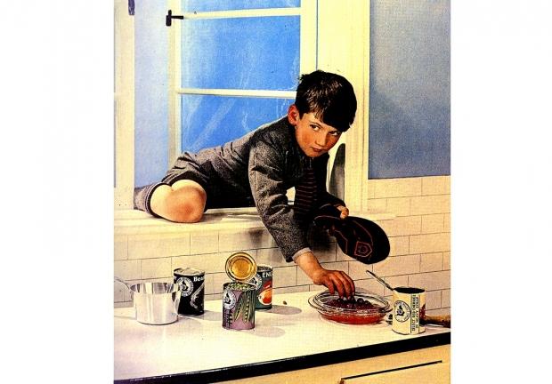 Model Children <br />(Coronet Magazine, 1941)