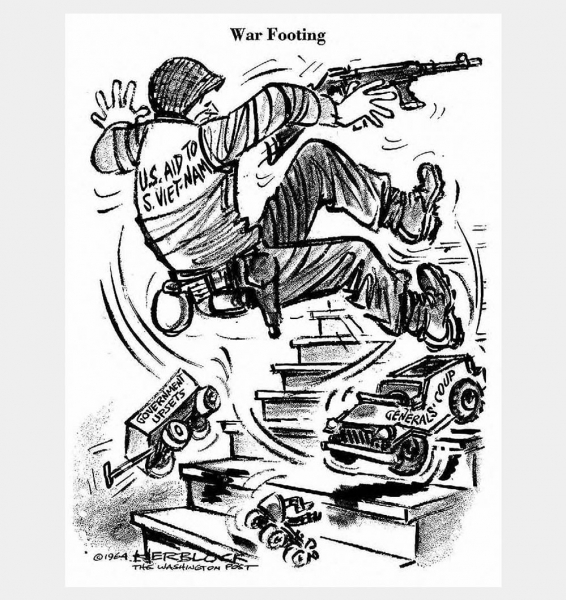 ''The Strange War the U.S. Is Not Winning'' <br />(United States News, 1963)