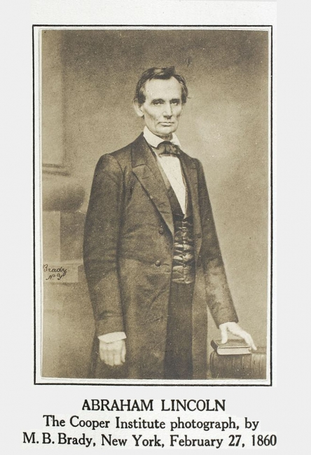Lincoln's Address at Cooper Union <br />(The National Park Service, 1956)