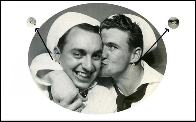 U.S. Sailors Wore <i>Earrings</i>? <br />(Pathfinder Magazine, 1944)