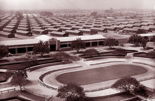 Los Angeles Nisei at Santa Anita Racetrack <br />(Rob Wagner's Script, 1942)