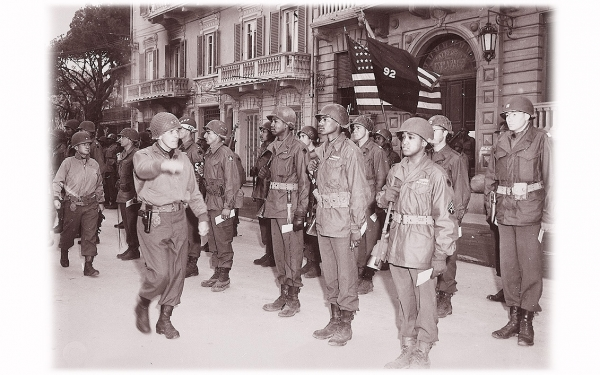 The African-Americans Fighting in France and Italy <br />(Yank Magazine, 1945)