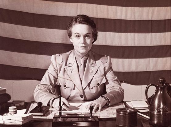 She Lead The WAACs <br />(Newsweek Magazine, 1944)