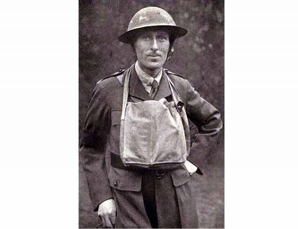 Ww1 Correspondent Philip Gibbs Hailed As Talented War Journalist 1917 Article Concerning War