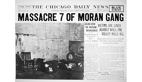 Al Capone St Valentine S Day Massacre St Valentine S Day Massacre