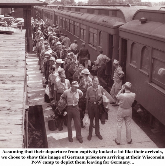 Repatriating The Axis PoWs <br />(Newsweek Magazine, 1945)