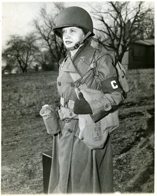 Ruth Cowan of the Associated Press <br />(Newsweek Magazine, 1947)