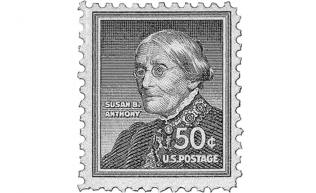 HONOR PAID TO SUSAN B ANTHONY 1920FEMINIST SALUTE