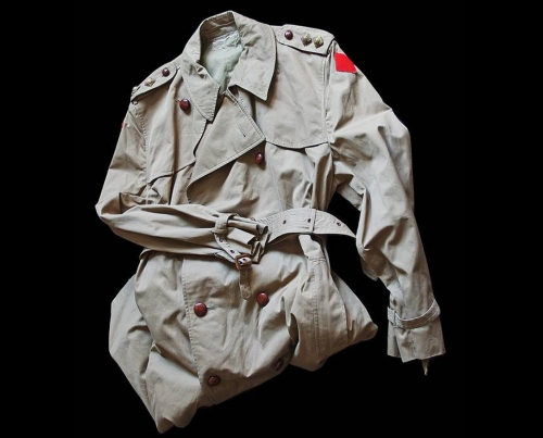 The Famous One: The Burberry Trench Coat  <br />(The Stars and Stripes, 1918)