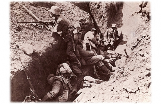 W.W. I Trench Fighting <br />(The New Republic, 1915)