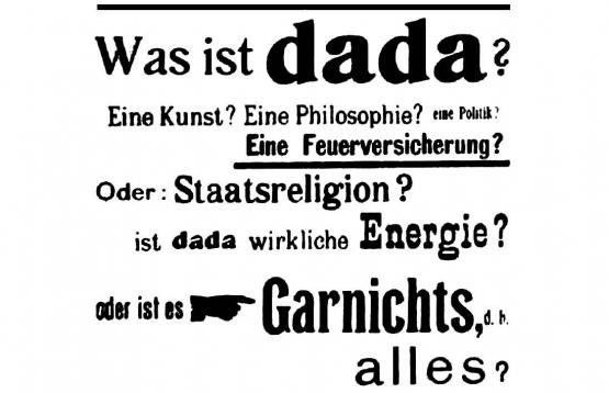 Dada in Germany <br />(Vanity Fair, 1922)