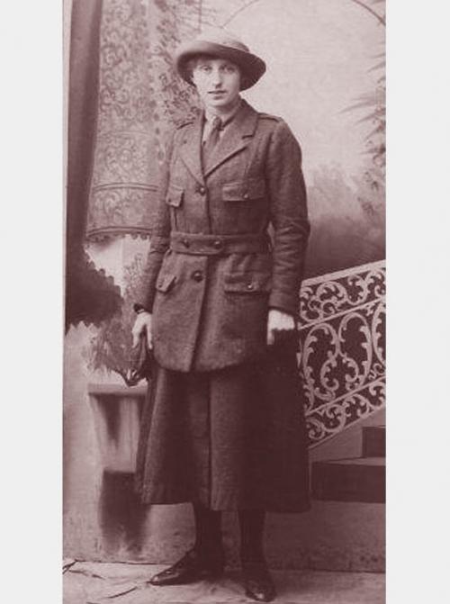 Her Armistice Poem <br />(American Legion Weekly, 1921)