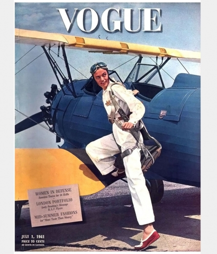 ''The Lady and the Plane'' <br />(Vanity Fair, 1919)
