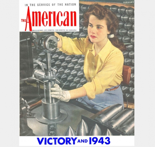 She Worked The Graveyard Shift <br />(The American Magazine, 1943)