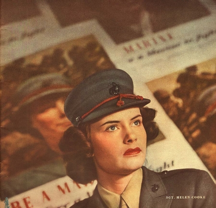 The Women of the U.S. Marine Corps  <br />(Think Magazine, 1946)