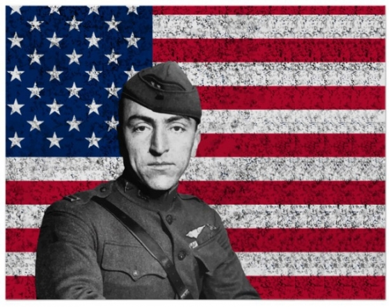 a description of captain eddie rickenbacker who is american ace of ace during world war i Captain eddie (edward vernon) rickenbacker was an american flying ace in world war i and later an airline executive after an early career as an automobile racer.