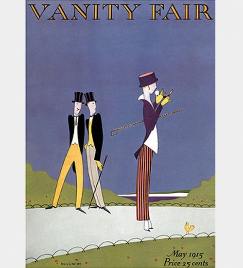 Paris Fashions:  Nine Months into W.W. I <br />(Vanity Fair Magazine, 1915)