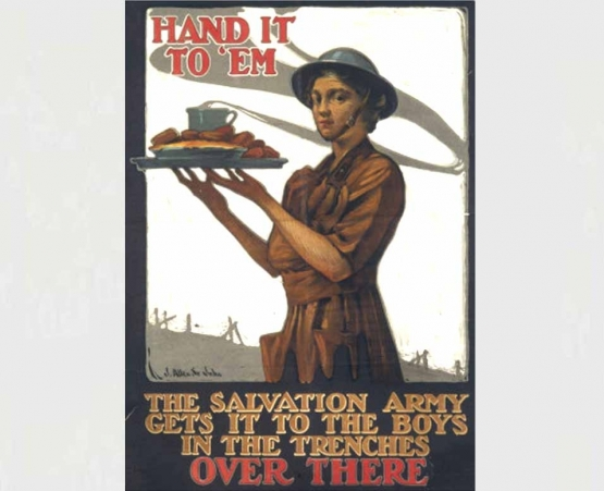 A Woman in the Salvation Army <br />(American Legion Monthly, 1928)