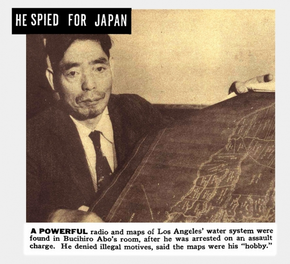 Japanese Spies on the West-Coast <br />(Ken Magazine, 1939)
