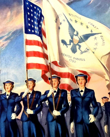 The Women of the U.S. Coast Guard <br />(Think Magazine, 1946)