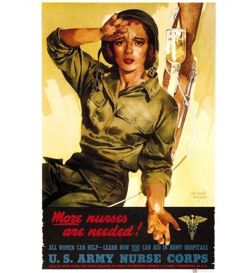 The U.S. Army Nurse Corps <br />(Think Magazine, 1946)