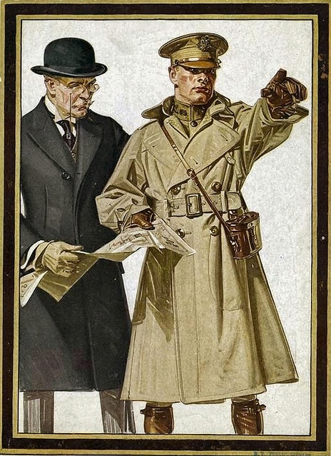 Trench Coat by Hitchinbrook  <br />(Army and Navy Stores, 1918)