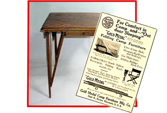 British Military Campaign Furniture  <br />(Mappin and Webb, 1915)