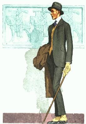 Men's Clothing for the Spring of 1916 <br />(Strauss Theater Magazine, 1916)