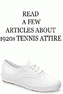 1920s tennis shoes