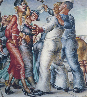 1930s art review paul cadmus