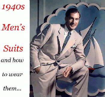 1940s suits for men
