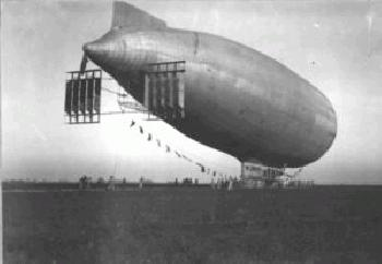Enrico Forlanini and His Dirigible  <br />(New York Times, 1918)
