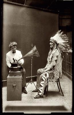ALICE CUNNINGHAM FLETCHER STUDY OF NATIVE AMERICAN MUSIC ...