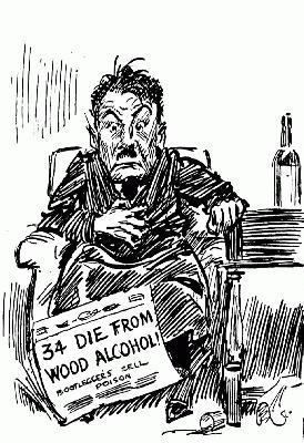 PROHIBITION cARTOON 1922
