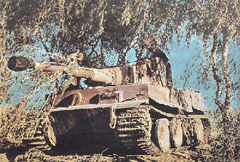 The Tiger Tank at the Aberdeen Proving Ground <br />(Yank Magazine, 1944)