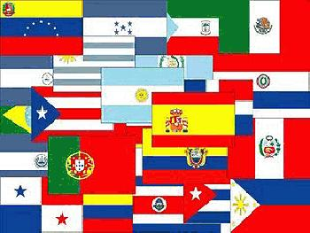 Spanish Speaking Countries Flags http://www.oldmagazinearticles.com/Spanish-Speaking-Unity