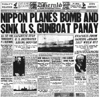 Japan Sinks an American Warship <br />(Literary Digest, 1937)