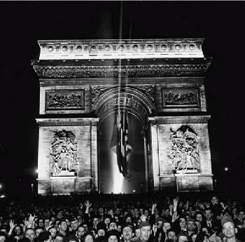 VE-Day in Paris <br />(Yank Magazine, 1945)