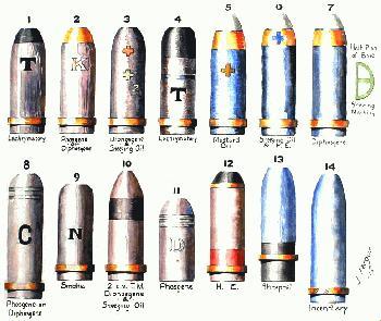 WW1 GAS WARFARE ARTICLE,WW1 GERMAN ARMY GAS SHELLS,WW1 POISON GAS ...